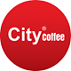 City Coffee Lounge hely logója